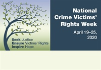 Tennessee Treasury Observes National Crime Victims' Rights Week, April 19-25
