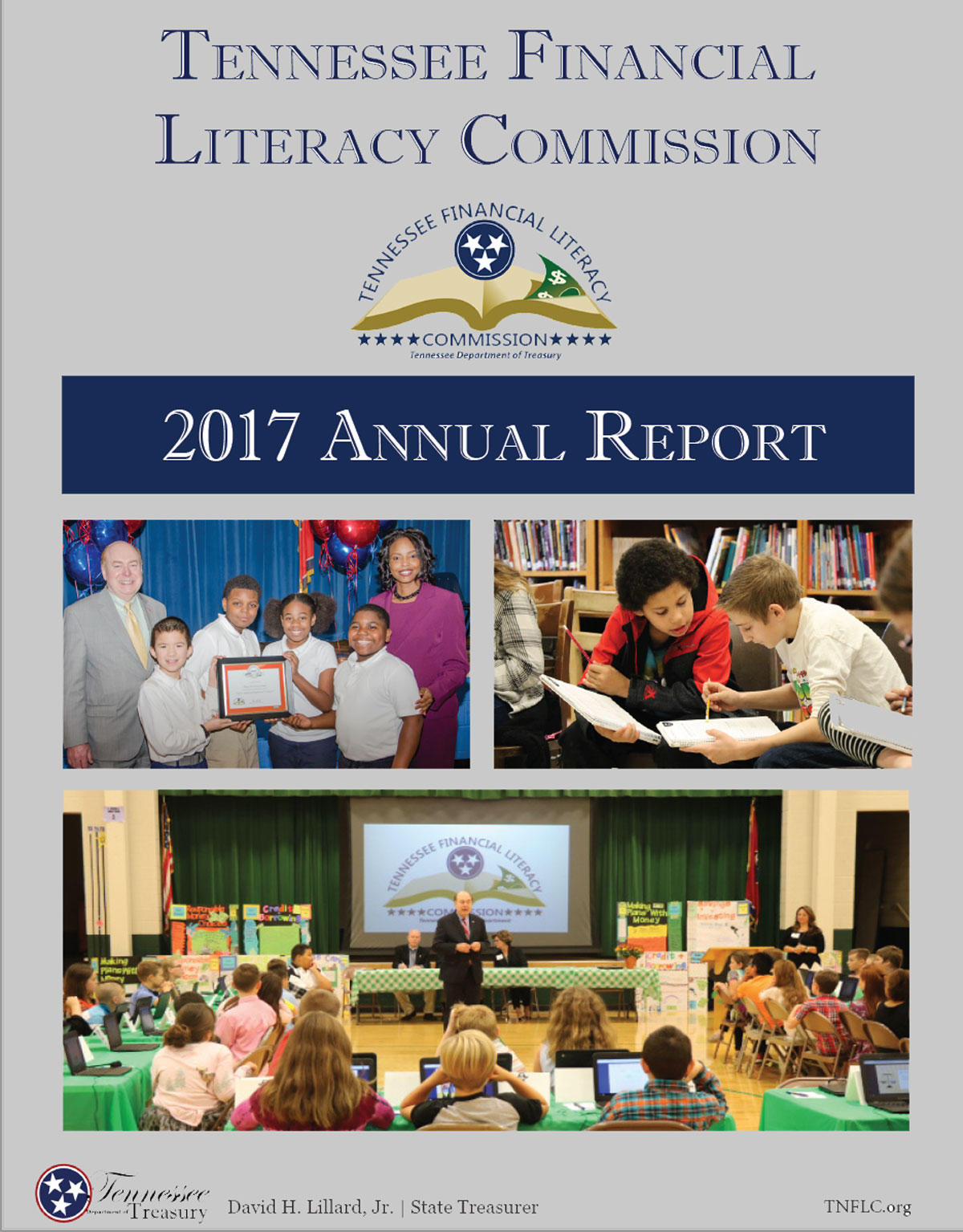 Tennessee Financial Literacy Commission annual report cover