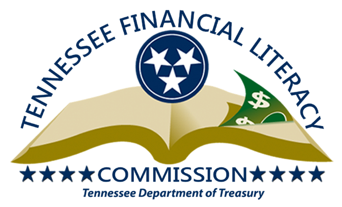 Tennessee Financial Literacy Commission logo, Tennessee Department of Treasury