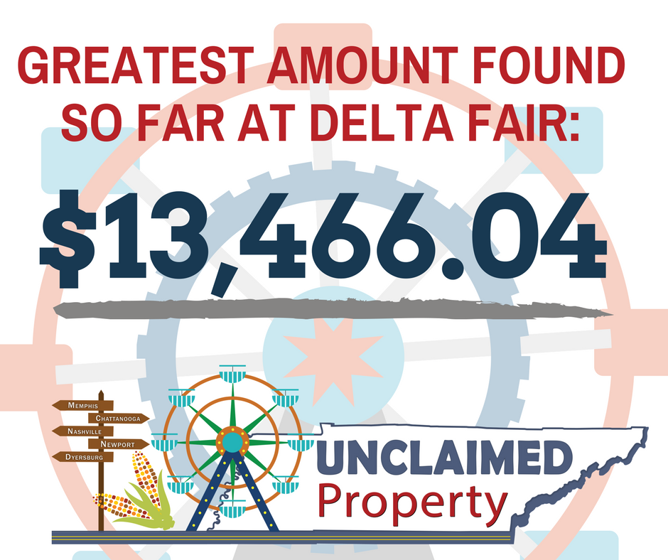 Delta Fair record amount $13,466.04