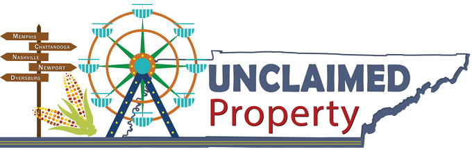 Unclaimed Property events logo
